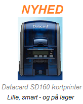 Nyhed - DataCard SD160 plastkort printer